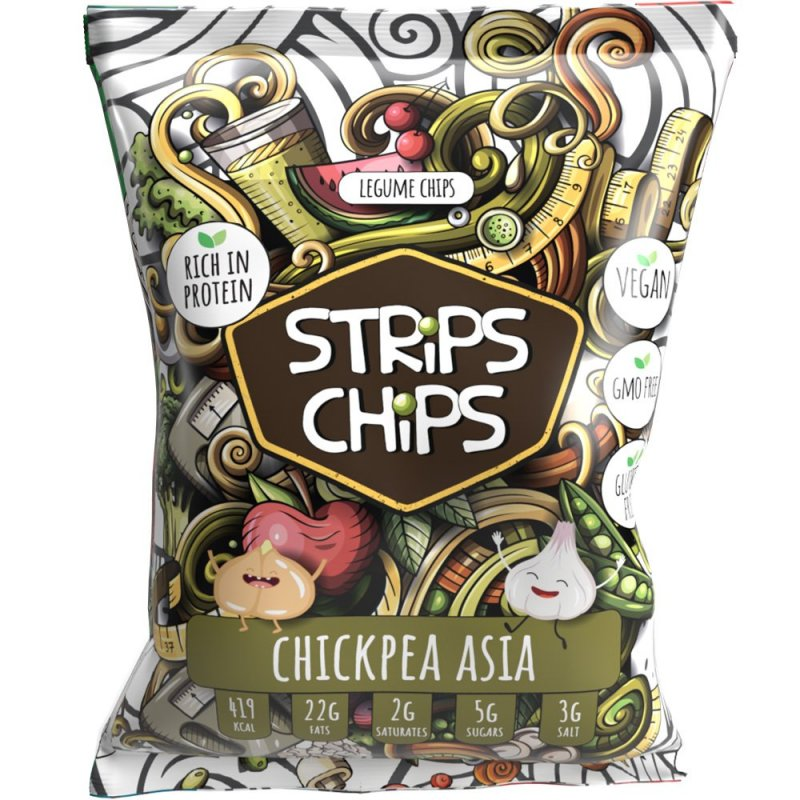 STRiPS CHiPS - Chickpea Asia