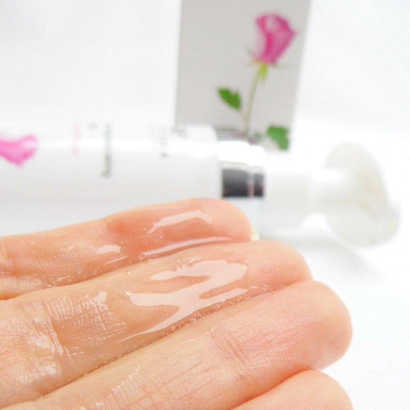 Prírodný šampón na podporu rastu vlasov bulharská ruža 100 ml