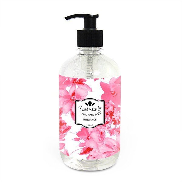 Naturalne mydło do rąk w płynie romans 500 ml