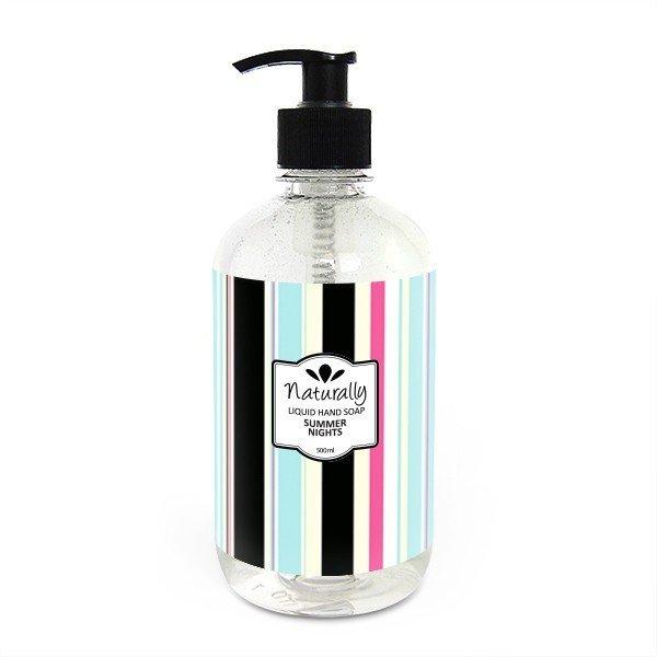 Naturalne mydło do rąk w płynie letnia noc 500 ml