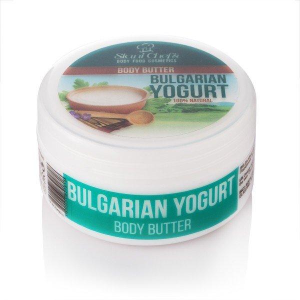Přírodní tělové máslo bulharský jogurt 250 ml