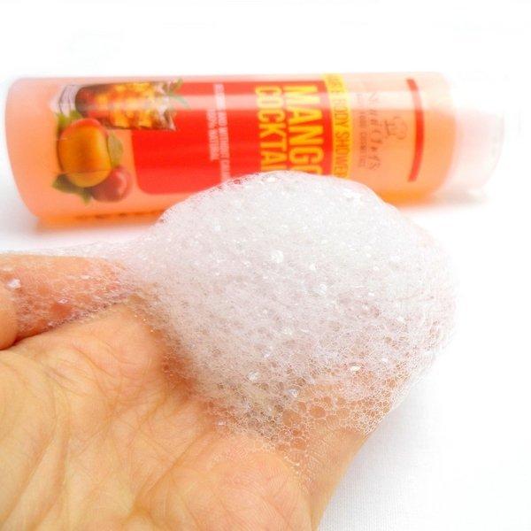 Natürliches Duschgel für Haut und Haar Mango-Cocktail 250 ml