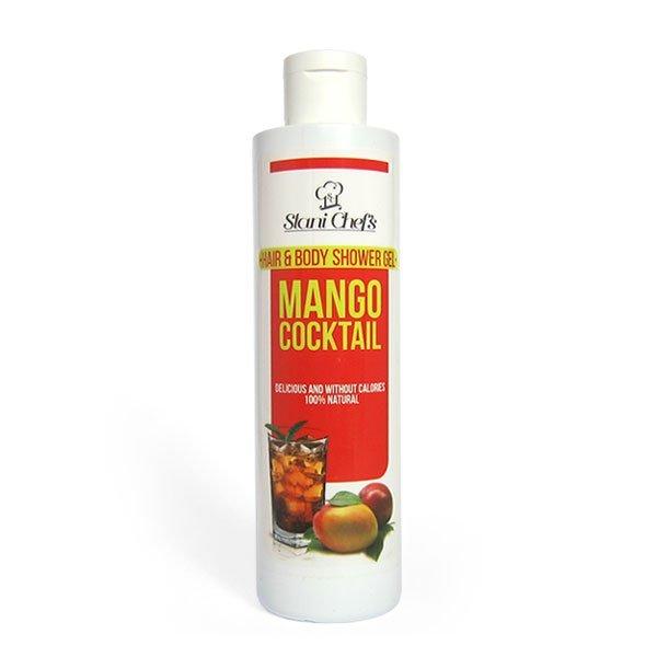 Naturalny żel pod prysznic do ciała i włosów koktajl mango 250 ml