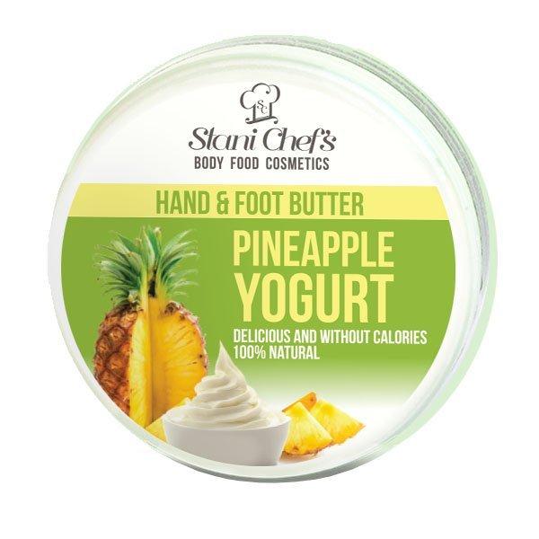 Naturalny krem do rąk i stóp jogurt ananasowy 100 ml