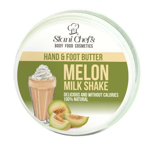Natürliche Hand- und Fußcreme Melonen-Milchshake 100 ml
