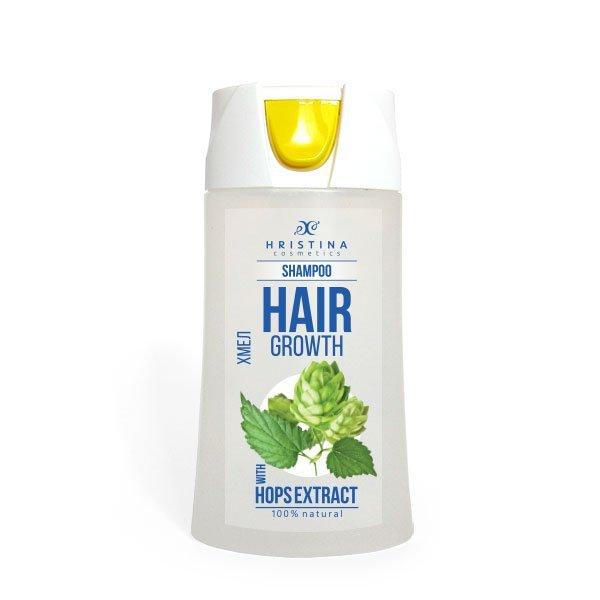 Přírodní šampon chmel pro zdravé a silné vlasy 200 ml