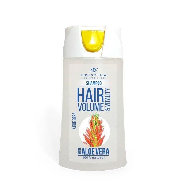 Natürliches Shampoo Aloe vera für volles und gesundes Haar 200 ml