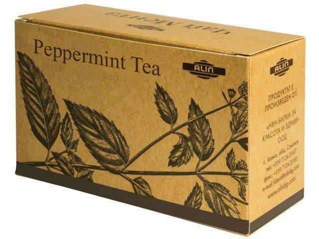 Čaj мáta pieporná 20 gr