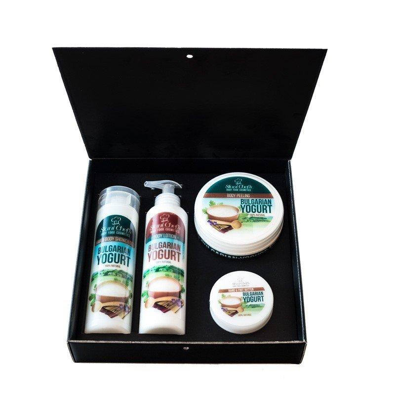 Zestaw naturalnych kosmetyków z jogurtem bułgarskim 850 ml