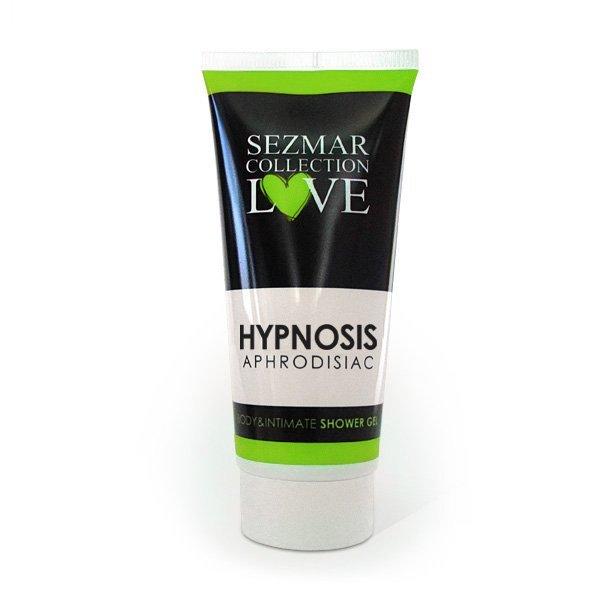 Přírodní intimní sprchový gel s afrodiziaky hypnosis 200 ml