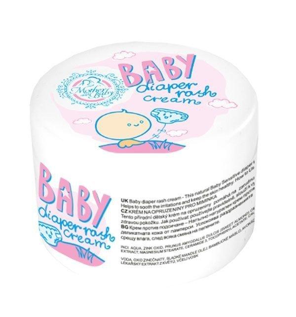 Naturalny krem na odparzenia dla niemowląt 100 ml