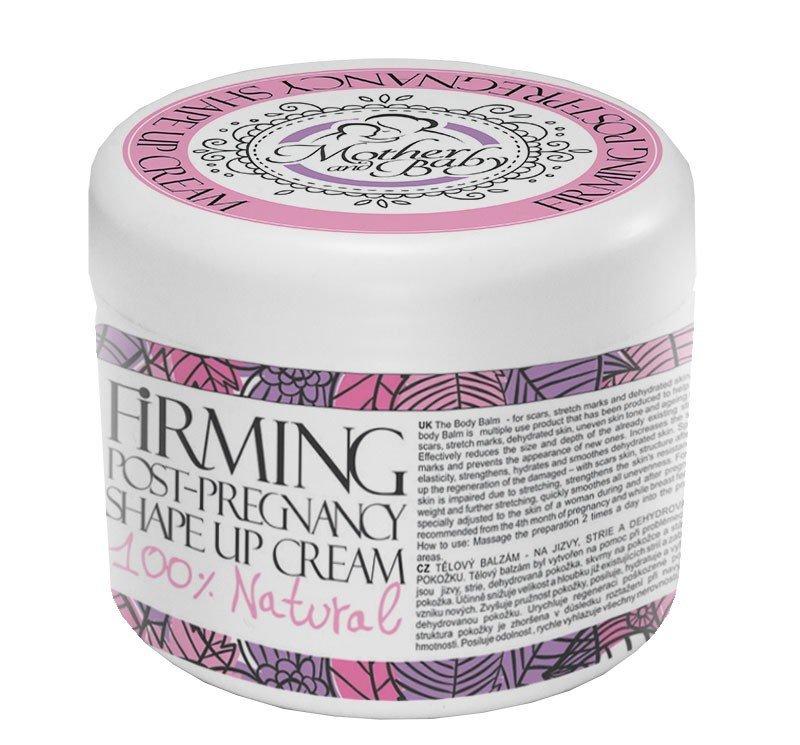 Natürliche festigende und formende Creme für Mütter für die Zeit nach der Schwangerschaft 250 ml