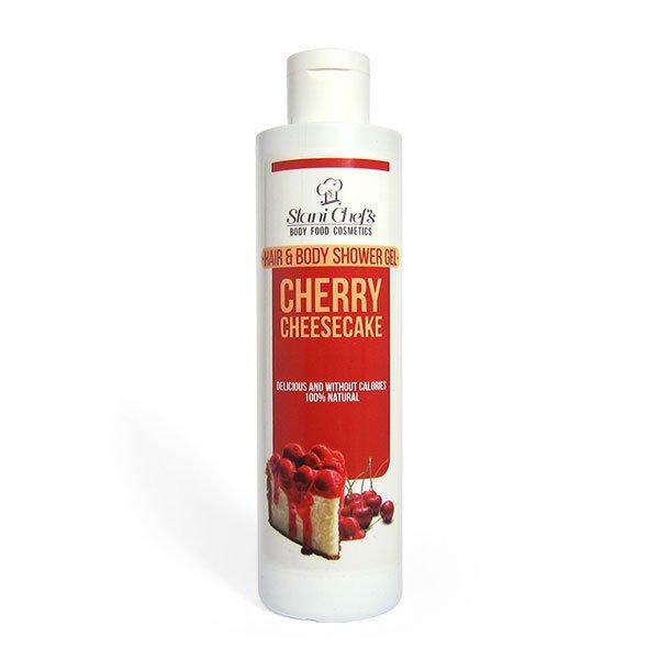 Natürliches Duschgel für Haut und Haar Kirschtorte 250 ml