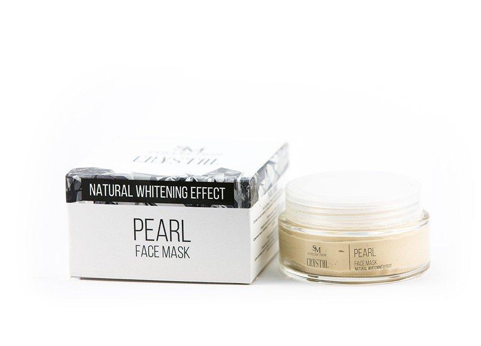 Prírodná tvárová maska perla 100 ml