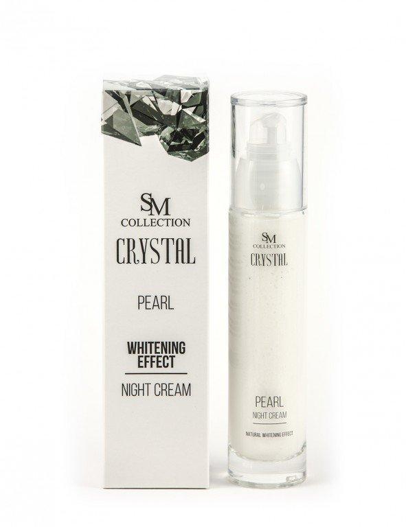Prírodný nočný krém perla 50 ml