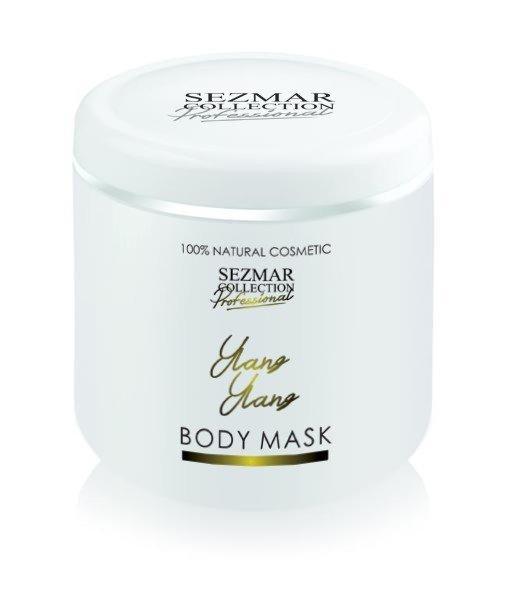 Přírodní maska na tělo a obličej ylang ylang 500 ml