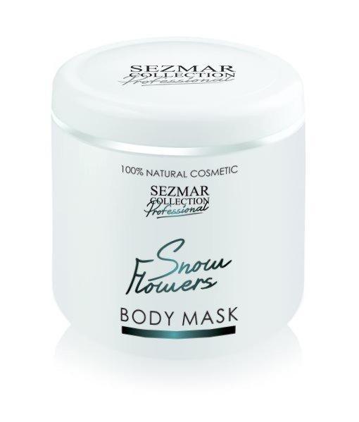Přírodní maska na tělo a obličej sněžné květy 500 ml