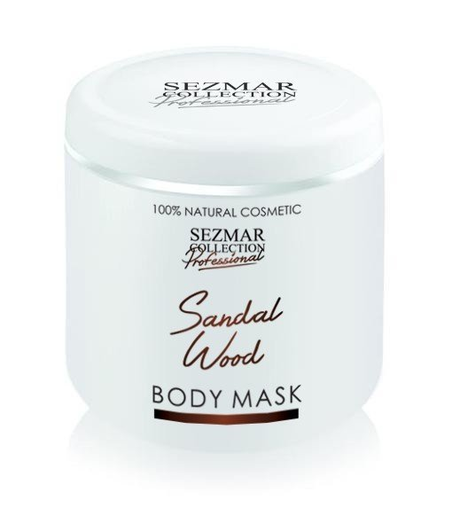 Prírodná maska na tvár a telo santalové drevo 500 ml