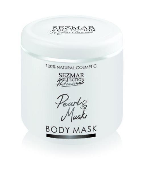 Prírodná maska na tvár a telo perla & pižma 500 ml