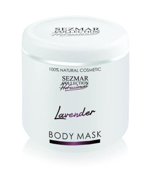 Prírodná maska na tvár a telo levandula 500 ml