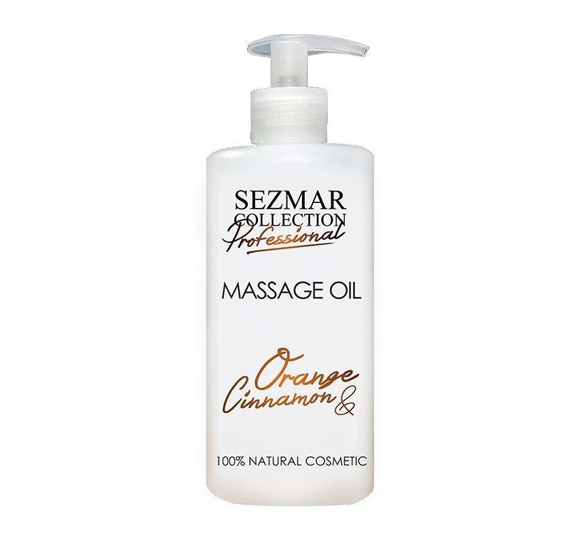 Natürliches Massageöl Orange & Zimt 500 ml