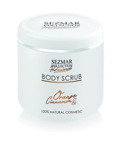 Naturalny peeling do ciała pomarańcza & cynamon 500 ml