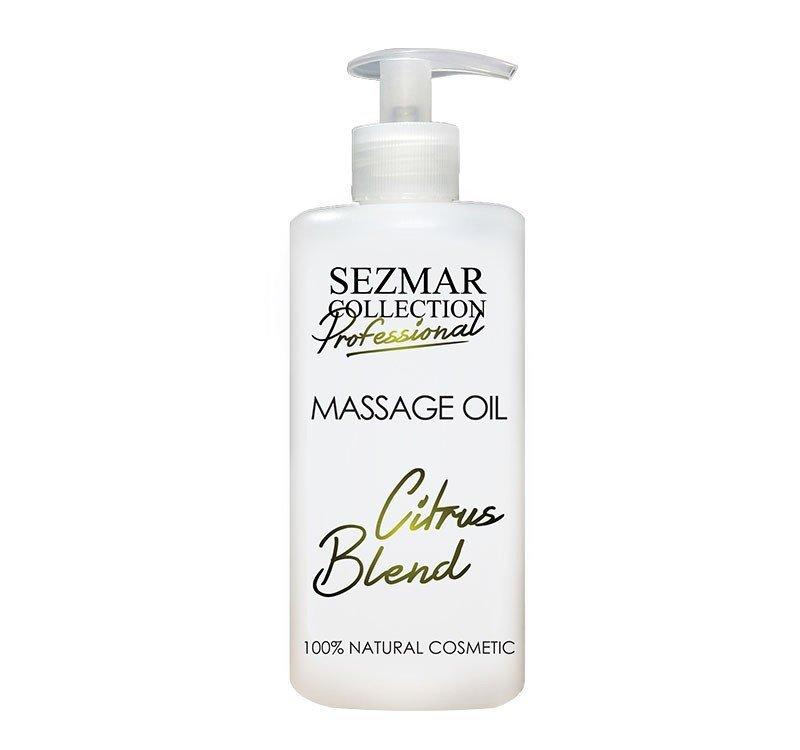Naturalny olejek do masażu mieszanka cytrynowa 500 ml