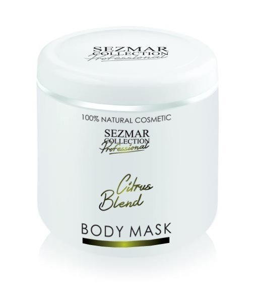 Naturalna maska do ciała i twarzy mieszanka cytrynowa 500 ml