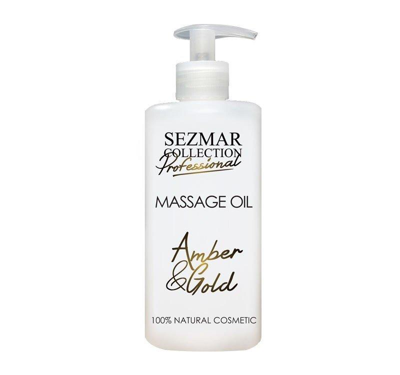 Naturalny olejek do masażu bursztyn i złoto 500 ml