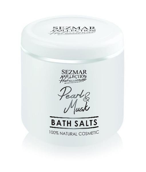 Přírodní koupelová sůl perla & pižmo 500 gr