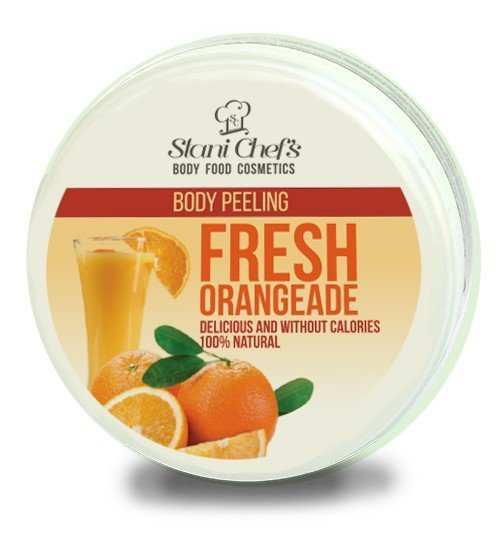Natürliches Körperpeeling frische Orangeade auf Meersalzbasis 250 ml