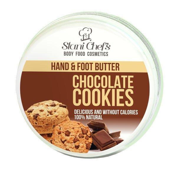 Prírodný krém na ruky a chodidlá čokoládové sušienky 100 ml