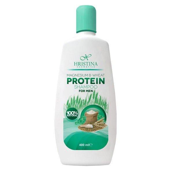 Přírodní šampon s hořčíkem a pšeničným proteinem pro muže 400 ml