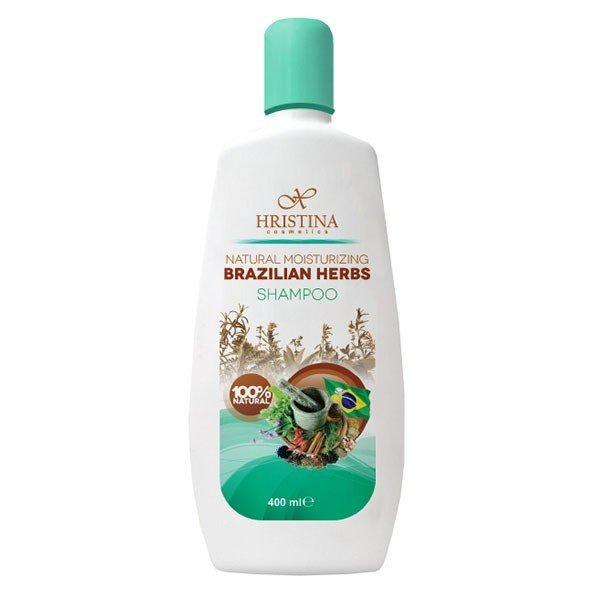 Prírodný hydratačný šampón brazílske bylinky 400 ml