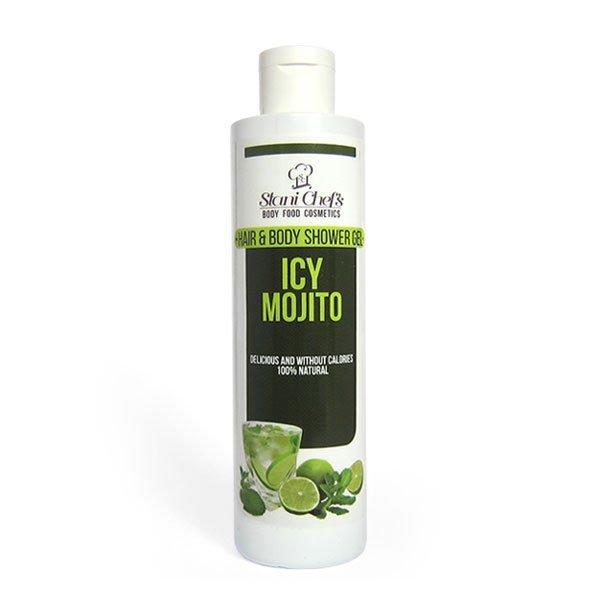 Naturalny żel pod prysznic do ciała i włosów lodowe mochito 250 ml
