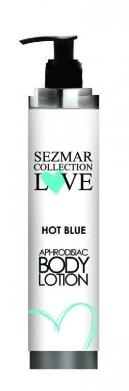 Naturalne mleczko do ciała z afrodyzjakami hot blue dla mężczyzn 200 ml