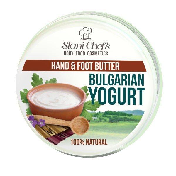 Prírodný krém na ruky a chodidlá bulharský jogurt 100 ml