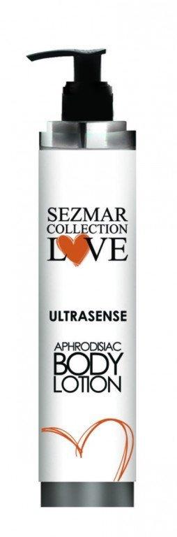 Natürliche Körpermilch mit Aphrodisiaka ultrasense für Männer 200 ml
