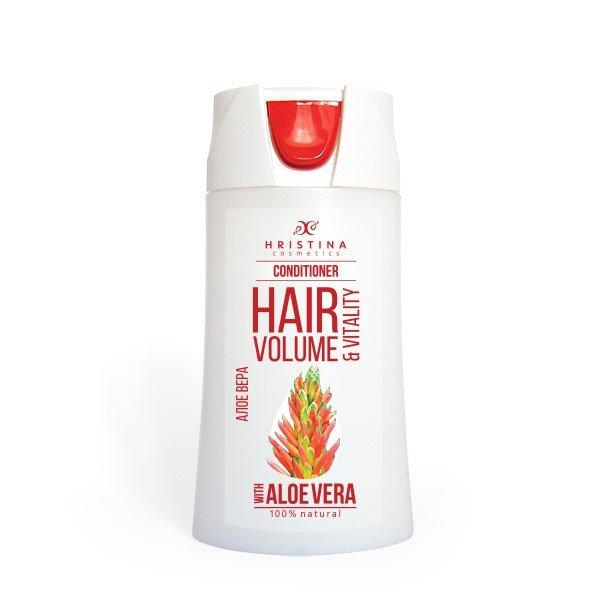 Přírodní kondicionér na vlasy aloe vera pro velký objem vlasů 200 ml
