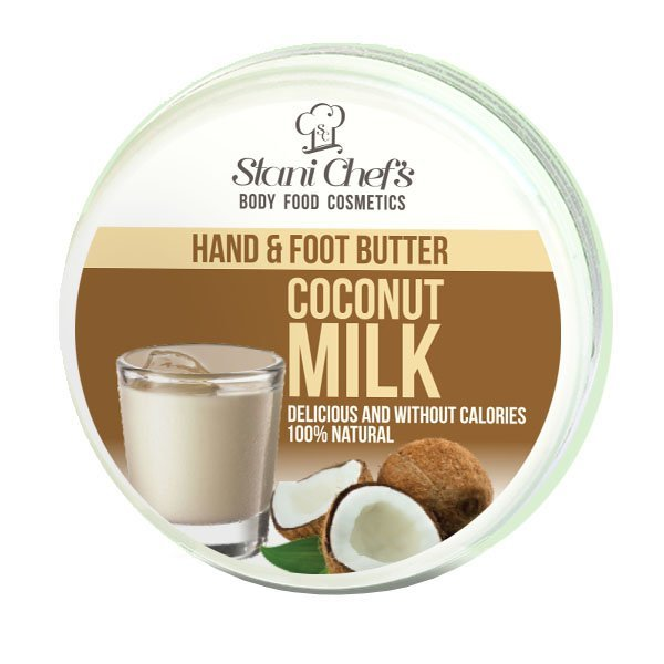 Prírodný krém na ruky a chodidlá kokosové mlieko 100 ml