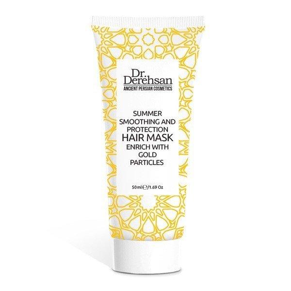 Přírodní maska na vlasy v letním období se zlatem 200 ml