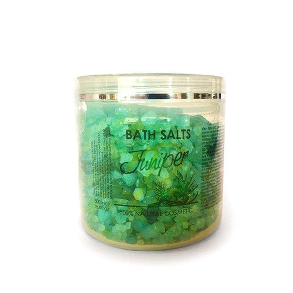 Přírodní sůl do koupele Juniper 500 ml