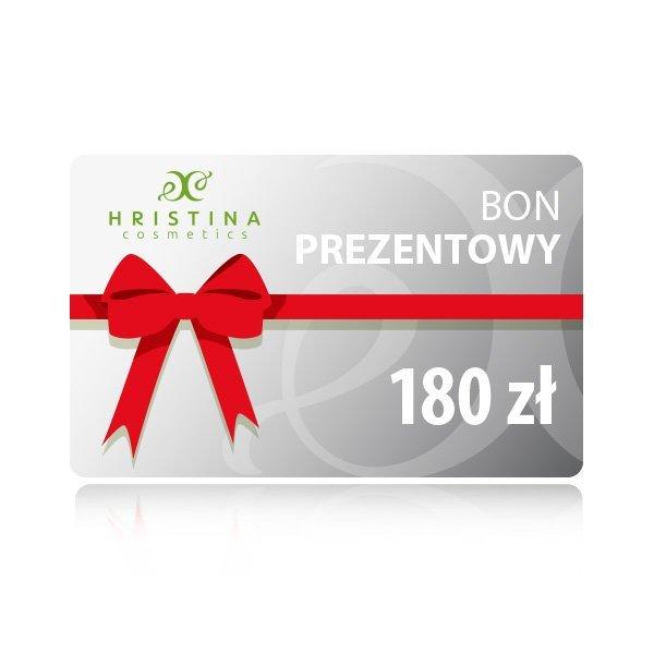 Elektroniczny kupon podarunkowy 180 zł