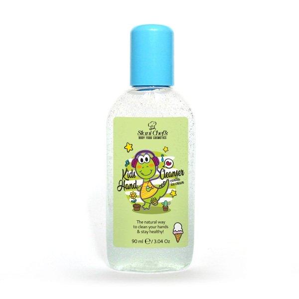 Přírodní čisticí gel na ruce pro děti vanilková zmrzlina 90 ml