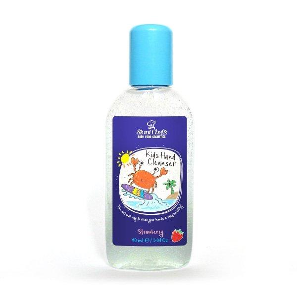 Natürliches Handreinigungsgel für Kinder Erdbeere 90 ml