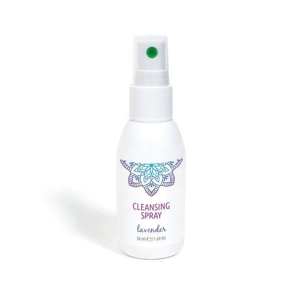 Natürliches Reinigungsspray für Hände und Oberflächen Lavendel 50 ml