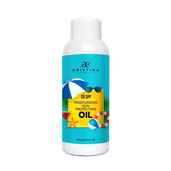 Natürliches feuchtigkeitsspendendes Sonnenöl 25 SPF 150 ml