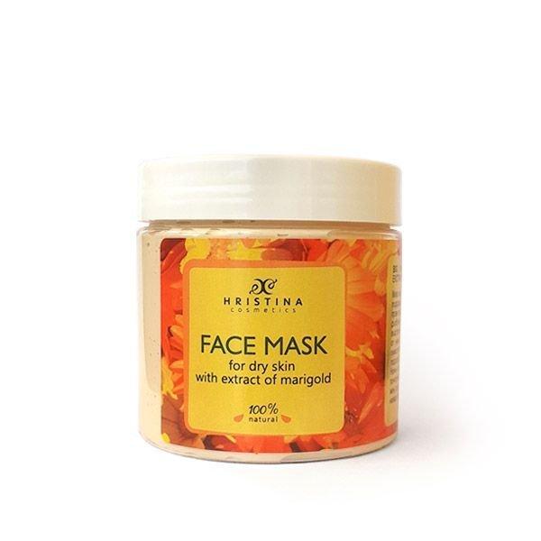 Natürliche Gesichtsmaske für trockene Haut mit Ringelblumenauszug 200 ml