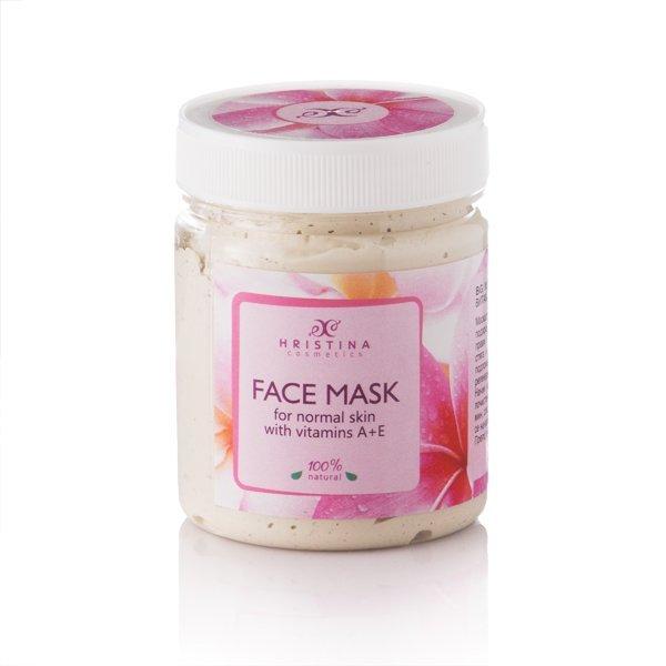 Natürliche Gesichtsmaske mit Vitamin A+E 200 ml