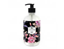 Přírodní tekuté mýdlo na ruce černý samet 500 ml